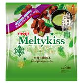 明治Meltykiss夾餡巧克力-抹茶家庭號147g【愛買】