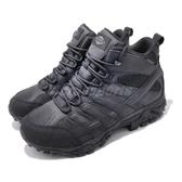Merrell 戰術靴 Moab 2 Mid Tactical Waterproof 黑 野戰 防水 登山鞋 男鞋 【ACS】 ML15853