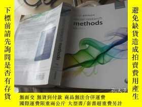 二手書博民逛書店ALAN罕見BRYMAN Social research methods 4th EditionY413068