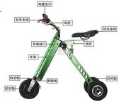 電動滑板車折疊電動滑板車成人代駕步自行車攜便小型女性電瓶 俏女孩