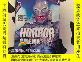 二手書博民逛書店【TASCHEN】圖書館系列罕見恐怖電影 Horror CinemaY331463 Jonathan Penn
