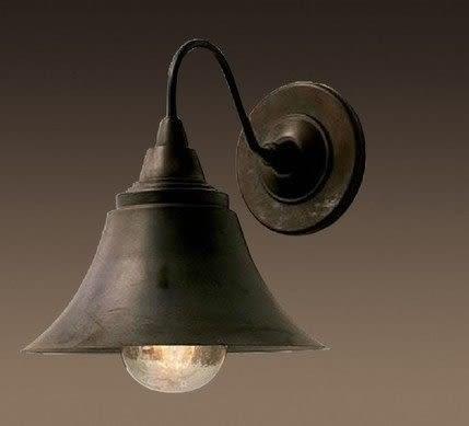 設計師美術精品館美式鄉村複古仿古工業鐵藝壁燈客廳陽台戶外大門口防水壁燈飾燈具