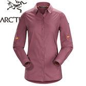 【ARC TERYX 始祖鳥 Fernie LS Shirt Women s 女款 抗UV長襯衫《紫紅》】15579/春夏款/襯衫/防曬襯衫★滿額送
