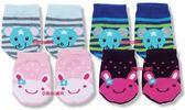 台灣製聖哥New Star寶寶船型棉襪~2雙入-NS3887