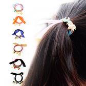 韓版 緞帶髮圈 髮飾 髮圈 橡皮圈 綁頭髮圈 綁頭髮橡皮筋 髮繩【D016】