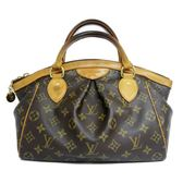 LV LOUIS VUITTON 路易威登 原花抓皺小手提包 Tivoli PM M40143【BRAND OFF】