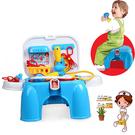 【17mall】二合一多功能家家酒玩具-仿真醫具椅/收納椅/遊戲椅/醫生玩具/醫生遊戲組 促銷小標