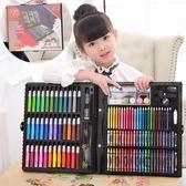 兒童畫筆套裝繪畫禮盒無毒水彩筆蠟筆小學生畫畫工具女孩生日禮物