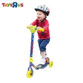 玩具反斗城 炫彩發光三輪滑板車