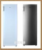 *~新家電錧~*【Whirlpool惠而浦 WIF1193W 】193公升直立式無霜 冷凍櫃