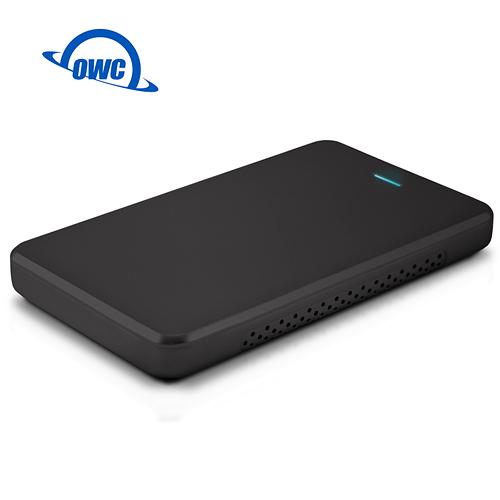 OWC Express Black USB 3.0 2.5吋 硬碟外接盒 黑色 支援高度 9.5mm 2.5 英寸 SATA I/II/III 硬碟或 SSD ( OWCES2.5BU3B )