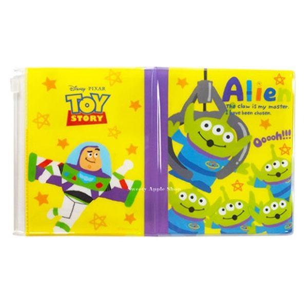 日本限定 迪士尼 玩具總動員 三眼怪 巴斯光年 多功能 護照套 收納套 IC卡夾