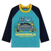 『小鱷魚童裝』機器人印花T恤(02號~10號)554433
