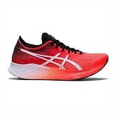 Asics Magic Speed 2E [1012A895-600] 女 慢跑鞋 碳板 輕量 緩衝 回彈 寬楦 紅