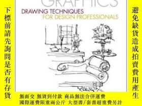 二手書博民逛書店Design罕見Graphics: Drawing Techni