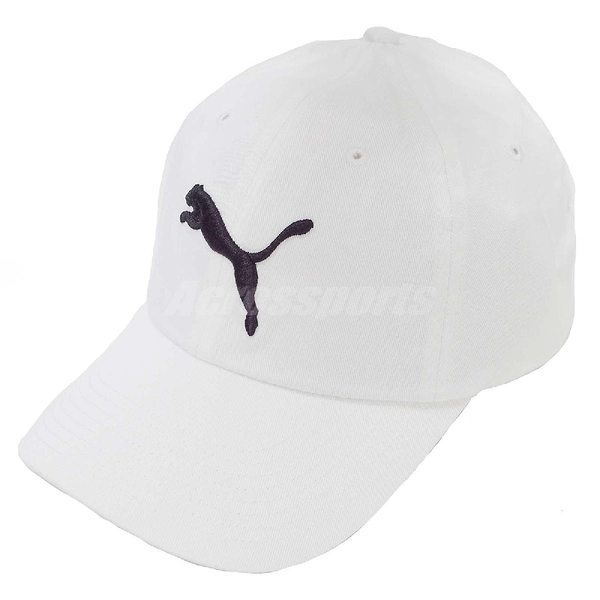 Puma 帽子 Baseball Cap 白 黑 LOGO 老帽 棒球帽 基本款 男女款 【PUMP306】 05291902