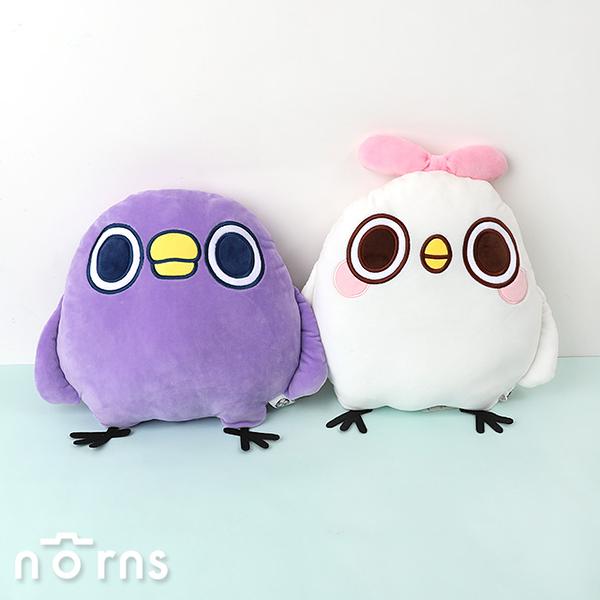 【懶得鳥你全身型扁枕12吋】Norns 正版懶鳥 抱枕 靠墊 靠枕 午安枕 絨毛玩偶娃娃