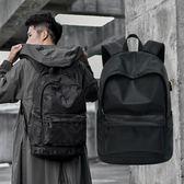 筆電包 潮牌背包男簡約休閒旅行包電腦雙肩包時尚潮流韓版學生書包【韓國時尚週】