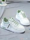 休閒鞋 百搭小白鞋女秋冬季學生加絨休閒運動女鞋老爹板鞋白鞋子 芊墨 618大促