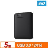 WD Elements 5TB 2.5吋 外接硬碟 WDBU6Y0050BBK-WESN