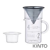 日本KINTO SCS簡約咖啡沖泡壺組600《WUZ屋子》