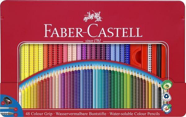 德國輝柏  2001握得住好點子水彩色鉛筆48色  鐵盒裝 / 盒  (112448)
