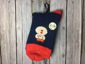 【京之物語】日本親自帶回聖誕節雪人內刷毛女性彈性襪