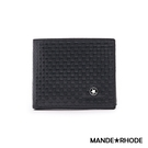 MANDE RHODE - 巴弗洛 - 質感真皮訂製編織短夾 - 86348-B