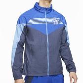 Nike Windrunner Jacket BRS 男 藍 拼接 可收納 立領 運動外套 DC9945-480