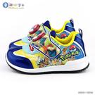 童鞋城堡- 寶貝球LED燈 跑底運動鞋 寶可夢 PA5267 藍