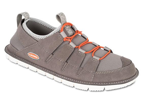 Lizard 義大利 Leaf 輕葉輕抗菌休閒鞋-可折收 男款 LI12537 深灰 輕量 180g 拖鞋 旅行【易遨遊】