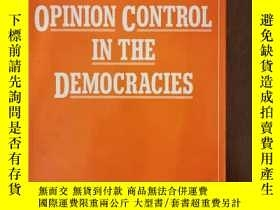 二手書博民逛書店Opinion罕見Control in the Democrac