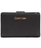 美國Calvin Klein 精品 黑色CK LOGO 經典款  短夾 + 零錢袋  $1980