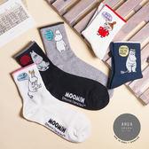 現貨✶正韓直送【K0231】韓國襪子 說話嚕嚕咪中筒襪 韓妞必備 素色襪 免運 阿華有事嗎
