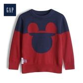 Gap男幼童甜美迪士尼圓領針織衫522957-熱情紅