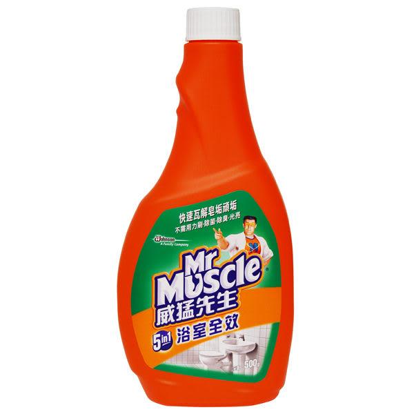 【威猛先生】浴室全效清潔劑(重裝瓶)500g