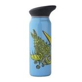 【速捷戶外露營】【美國WATERBOX】750ml 不鏽鋼水壺 BPA FREE (魚)