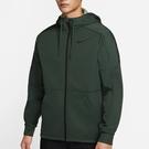 Nike Therma 男裝 外套 連帽 保暖 休閒 後身加長 拉鍊口袋 綠【運動世界】CU7359-337