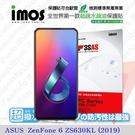 【愛瘋潮】華碩 ASUS ZenFone 6 ZS630KL (2019)  iMOS 3SAS 防潑水 防指紋 疏油疏水 螢幕保護貼