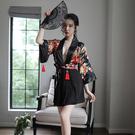 情趣睡衣 情趣內衣 情趣用品 露乳印花日系和服制服cosplay角色扮演 女情趣內衣褲透視性感睡衣