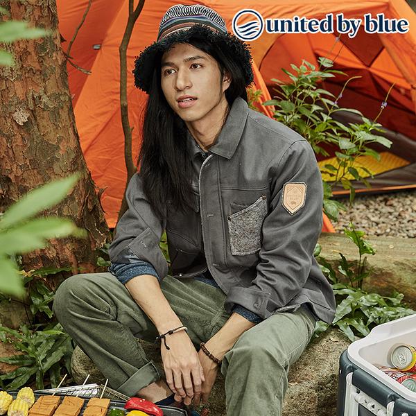 United by Blue 男野牛毛立領保暖外套 104-007 Bison Utility Jacket / 城市綠洲 (有機棉、環保、無化學物)