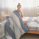 #U114#舒柔超細纖維6x6.2尺雙人加大床包+枕套三件組-台灣製(不含被套)