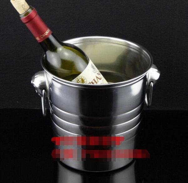 保温红酒香槟冰桶  不锈钢 冰酒桶 小號【藍星居家】