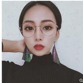 秒殺新版圓框鏡男女可配玳瑁框豹紋色眼鏡架潮文藝眼鏡框聖誕交換禮物