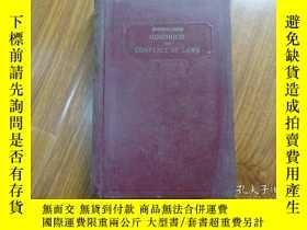 二手書博民逛書店GOODRICH罕見ON CONFLICT OF LAWSY14