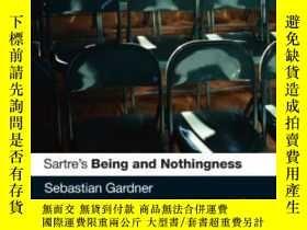 二手書博民逛書店Sartre s罕見Being And Nothingness-薩特的存在與虛無Y436638 Sebasti