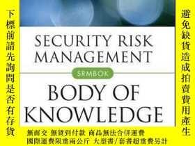 二手書博民逛書店Security罕見Risk Management Body of KnowledgeY410016 Juli