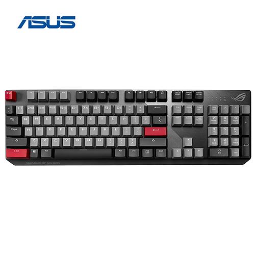 ASUS 華碩 ROG Strix Scope PBT Cherry MX 軸 機械式 電競 鍵盤