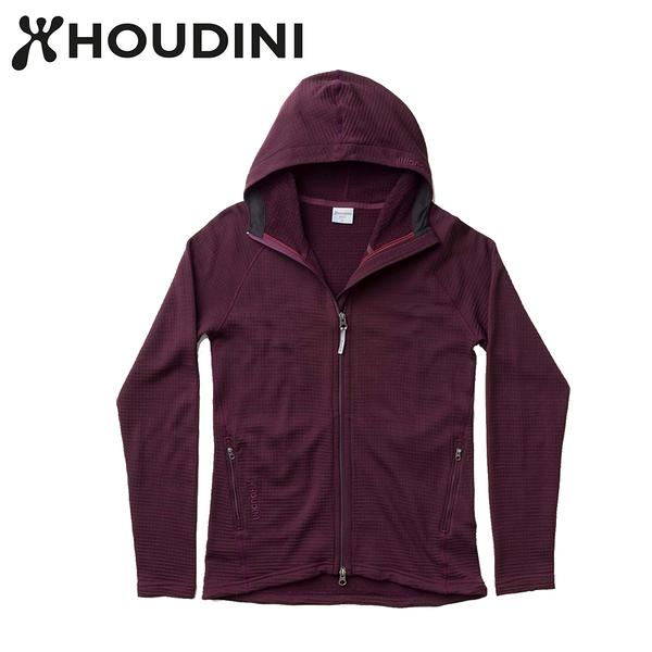 瑞典【Houdini】W`s Wooler Houdi 美麗諾女款羊毛外套 樹莓紅 125834