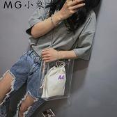 果凍包 新款夏天仙女透明果凍包側背包